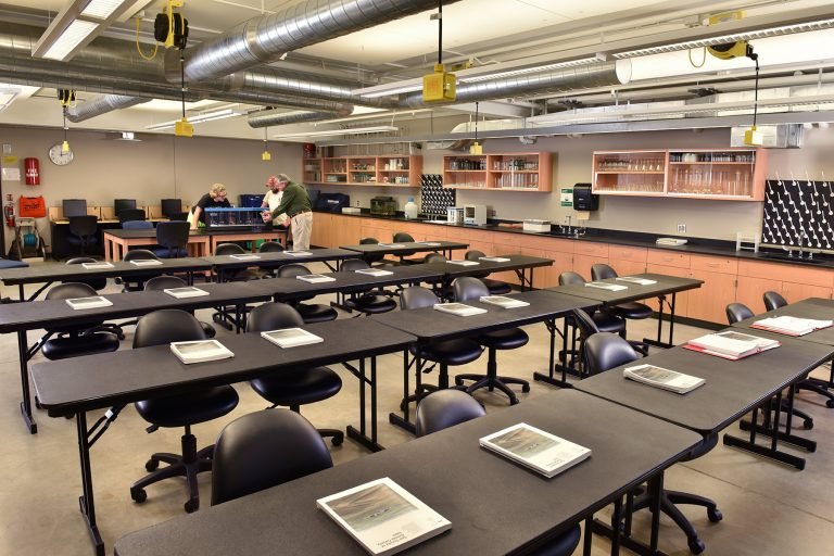Student lab and classroom