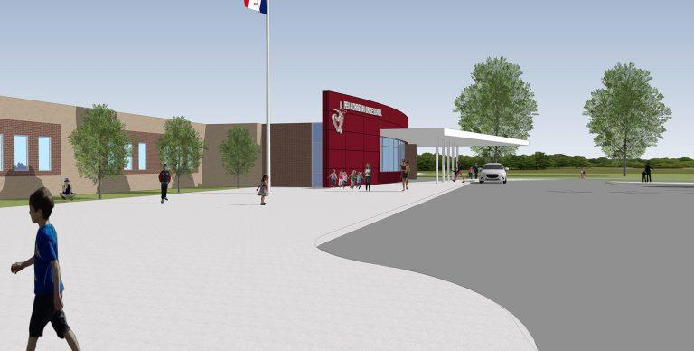 Exterior entry side render