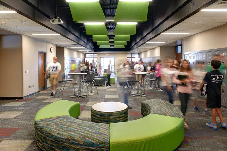 Student Green Circulation Pod