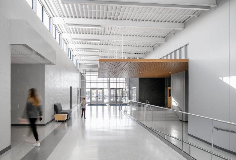 Interior front entrance corridor