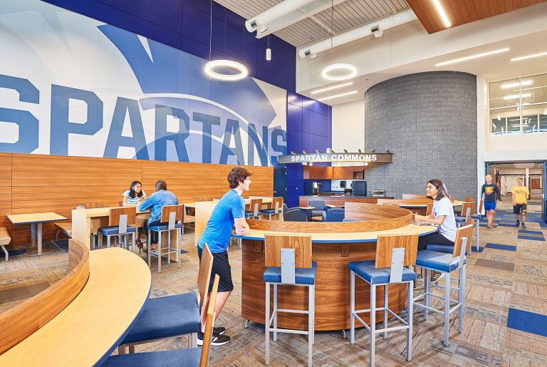 Spartans commons and coffee bar