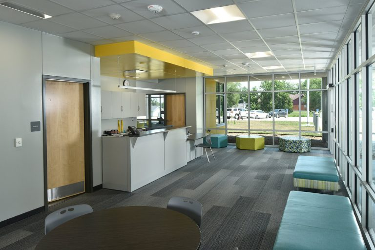 Administrative and reception space