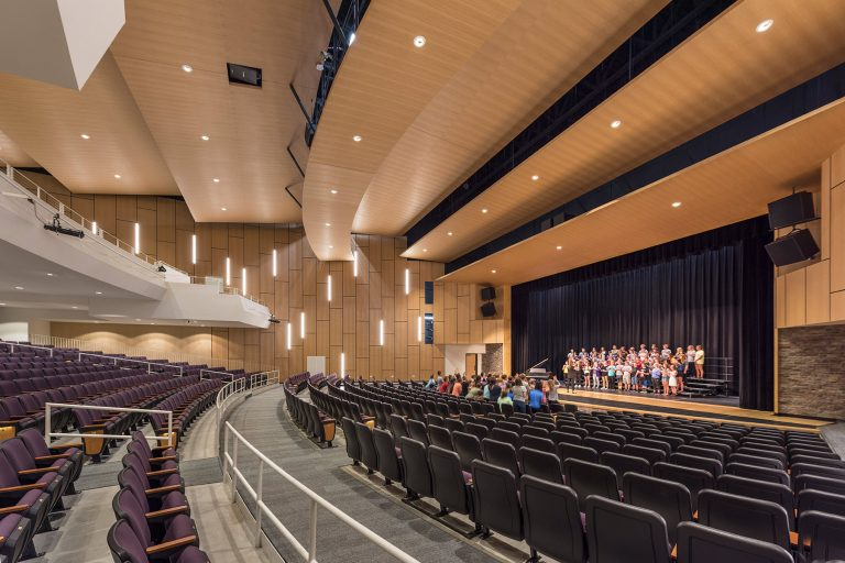 High school auditorium