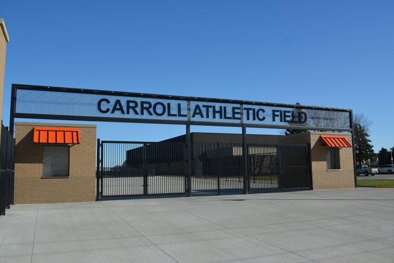 Athletic Field Entrance Gate