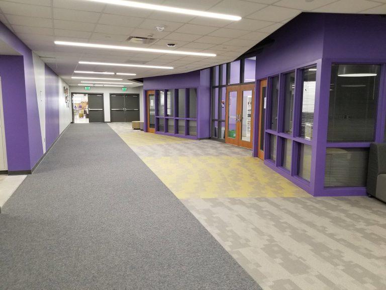 Corridor to media center