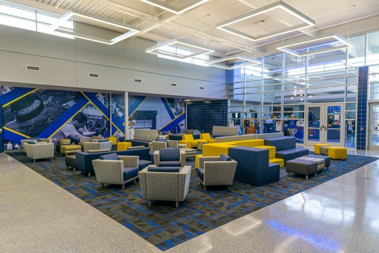 Interior lobby overall