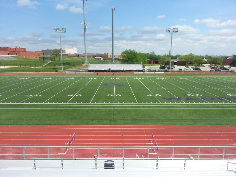 Football field and track overall