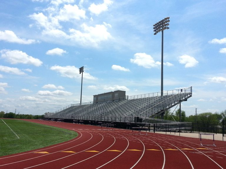 Track and stands
