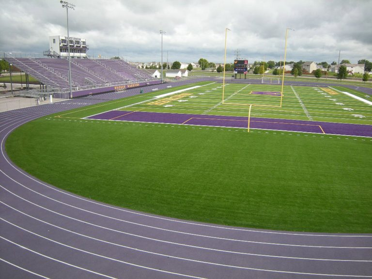 Field and track from endzone