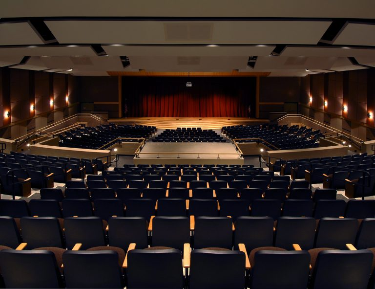 Auditorium looking down towards stage