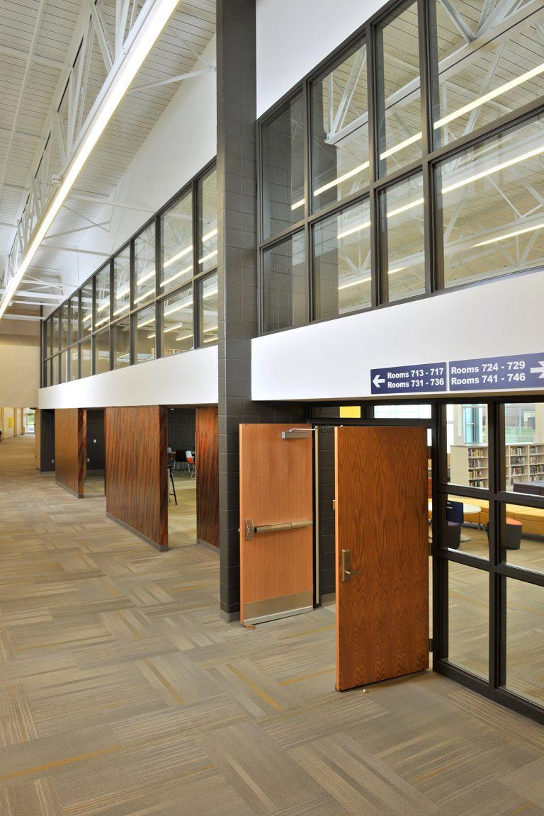 Media center entrance